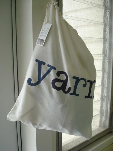sweet yarn bag