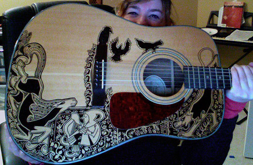 Further Adventures of the Sharpie Guitar