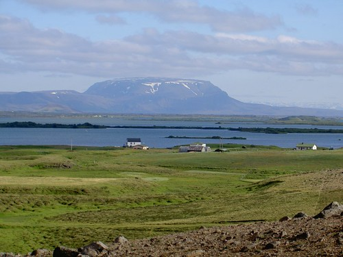 First sight of Myvatn