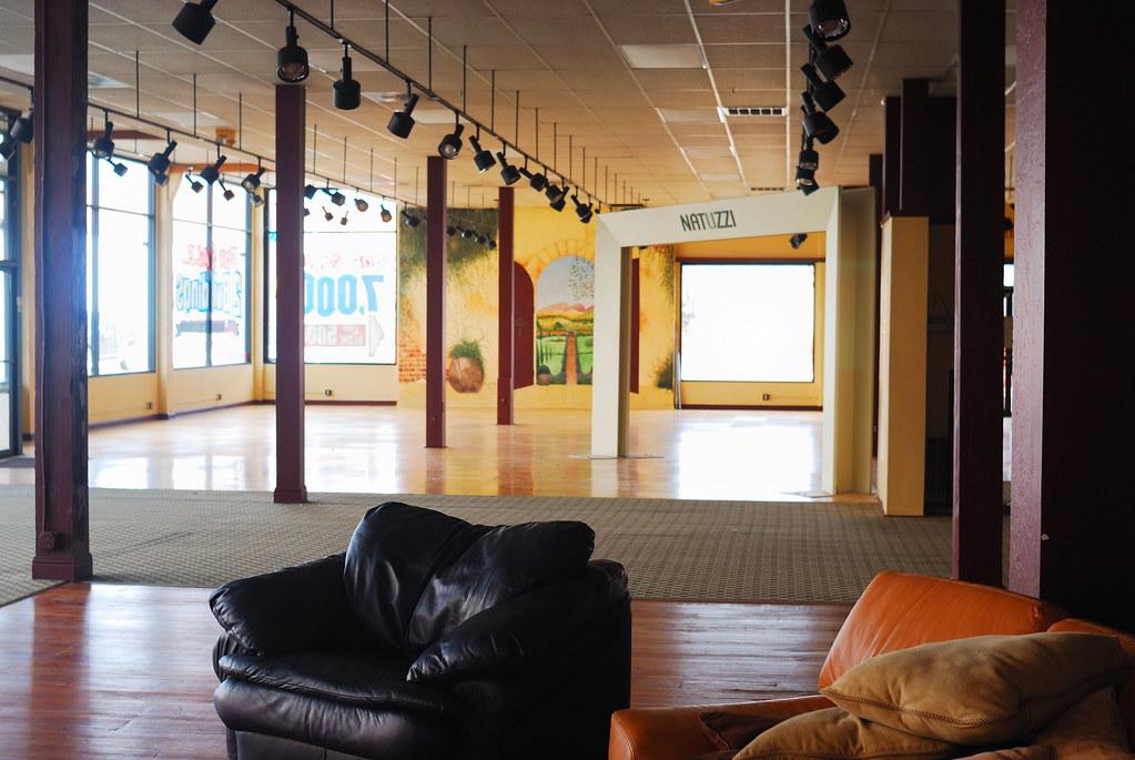 Closed Furniture Store