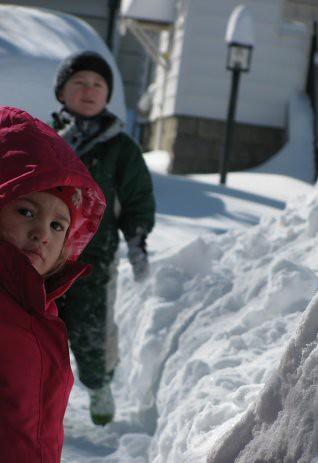 O & V snow