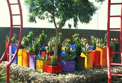 Cubedec A Custom (Badec Bros Deco) Tags: colour art architecture modern bench design planters mosaic unique steel powder laser deco bros coated gabions edrich badenhorst badec cubedec
