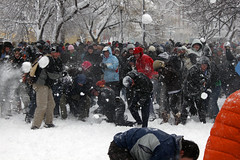 2010 02 06 - 1310 - Washington DC - Dupont Snowball Fight