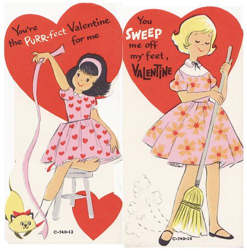1960s valentines
