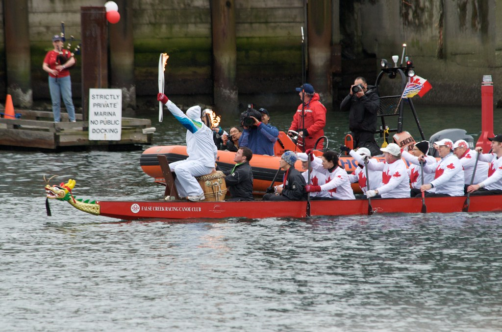 The Torch is on a Boat!