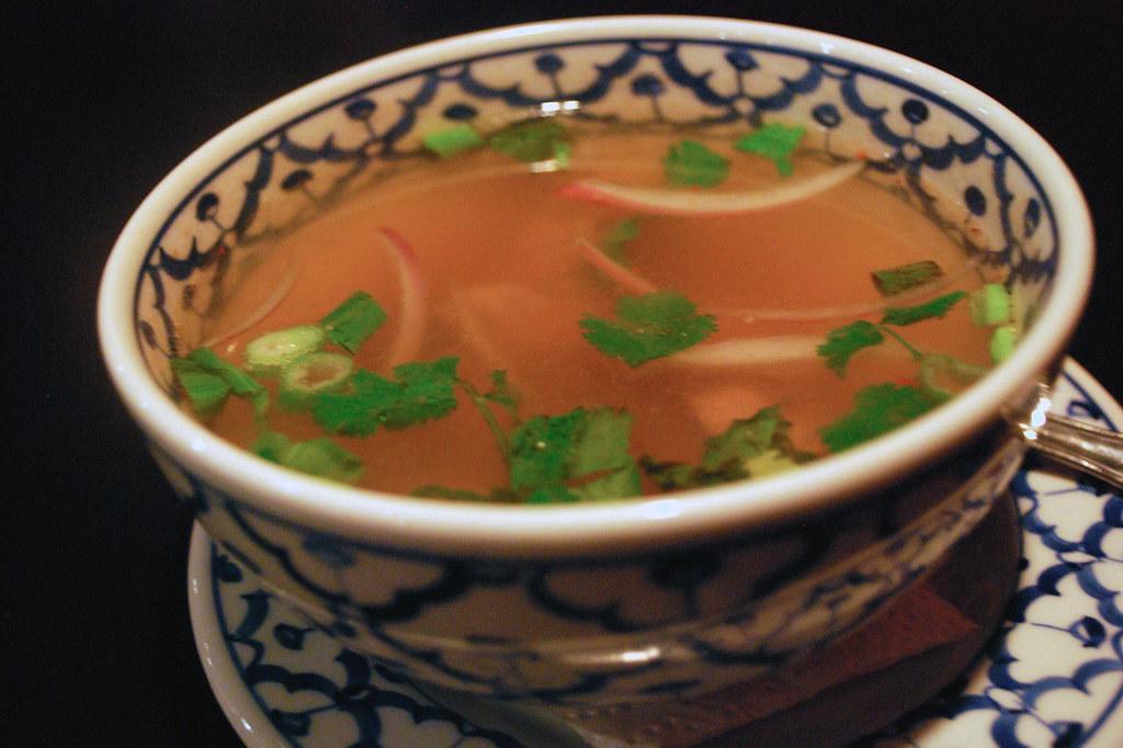Bangkok Thai Cuisine Zap Beef Soup
