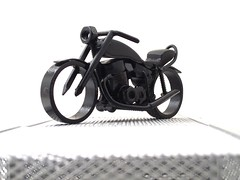 Welding Metal Motorcycle sculpture