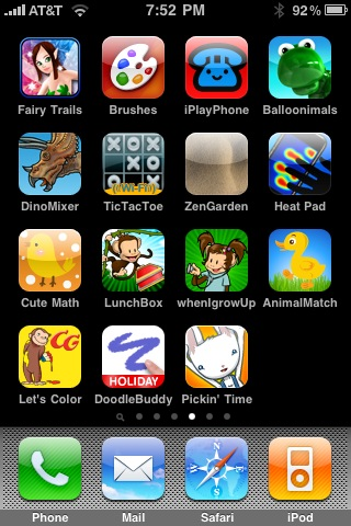 My recommended kid games – A Whole Lotta Nothing