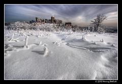 Castle Tęczyn in the winter scene (Mariusz Petelicki) Tags: winter ruins zima hdr ruiny 3xp zamektęczyn mariuszpetelicki castletęczyn