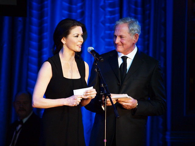 Catherine Zeta-Jones and Victor Garber by The Drama League