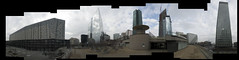 Paris - La Dfense at 360 (Matteo Mossini) Tags: winter sky urban panorama paris tower collage skyline photo nikon shot d70 wide large pic super line nikkor inverno ladfense 2010 parigi extremely febbraio 1870 grattaceli largeresolution unionofshot
