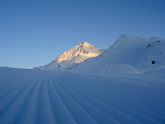 Sonnenuntergang am Ahorn (celero) Tags: schnee snow berg sonnenuntergang ahorn mayerhofen