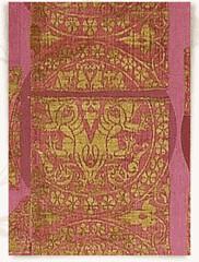 Kaikobad silk panel 12thc Anatolia (julianna.lees) Tags: ancient silk shroud textiles sassanian doubleheaded sassanid suaire