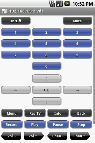 a mobile remote control - 1