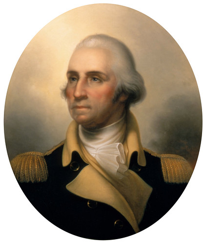 George Washington by Peale 1823
