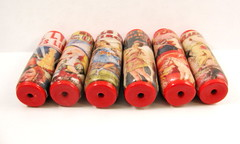 Under The Big Top Circus Focal Beads (3)