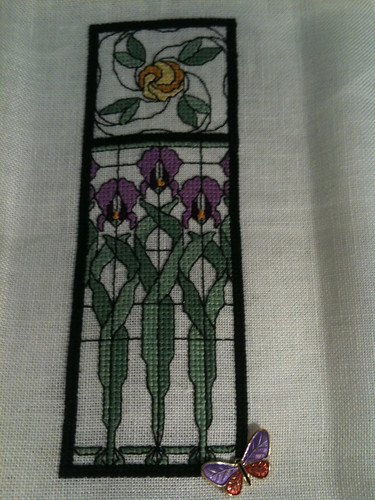 iris window garden - complete 2-21-10