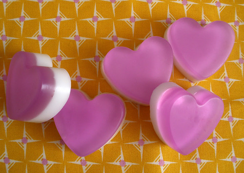 purple heart soaps