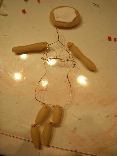 Doll in Progress