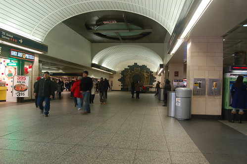 Penn Station Lower Level - Exit to 123 subway and 34th Street