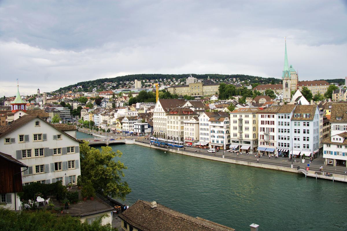 我也要摸彩之瑞士 蘇黎世篇