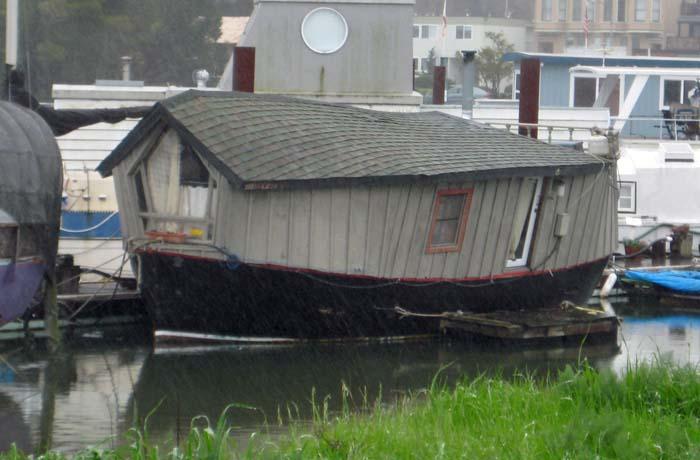 Wonky Houseboat