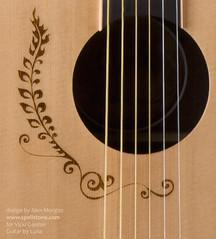 Vicki Genfan Signature Guitar (Spellstone) Tags: art design artist pattern guitars surfacedesign acoustic henna alexmorgan vickigenfan spellstone lunaguitars