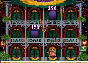 free Mardi Gras Fever gamble bonus game