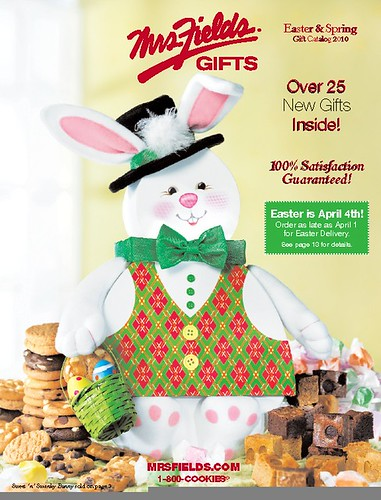 Mrs. Fields Easter Catalog 2010