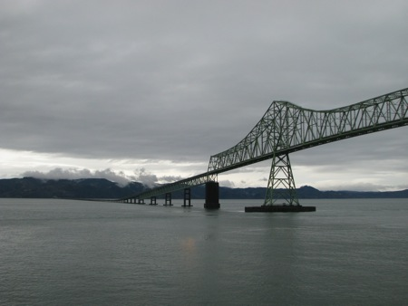 Astoria Bridge across the Columbia River