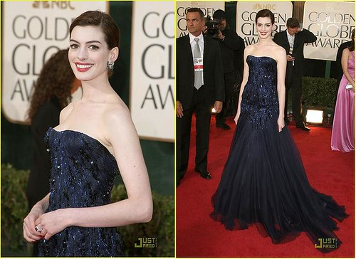 Anne Hathaway, (c) Frazer Harrison+Kevork Djansezian+Jason Merritt+Getty, via JustJared