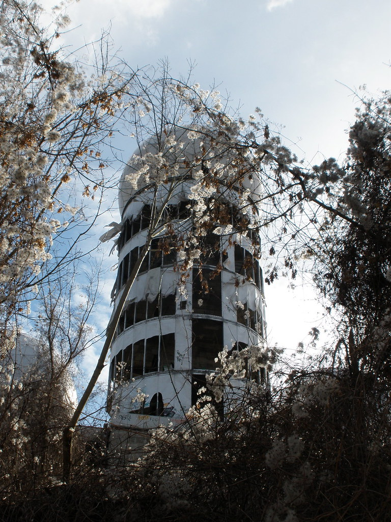 abandoned army base in Grunewald berlin