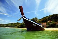 Phuket - Long Tail (ICT_photo) Tags: beach thailand boat fishing phuket longtail