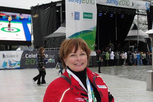 Surrey city councillor Linda Hepner