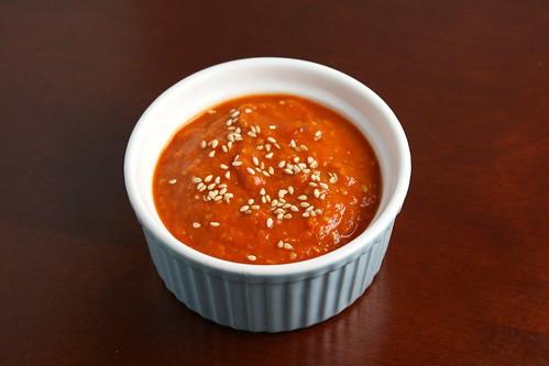Korean-style Salsa Roja