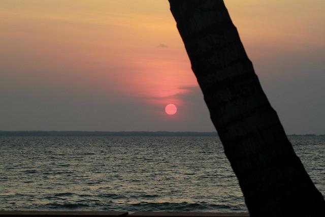 Sunset Libreville