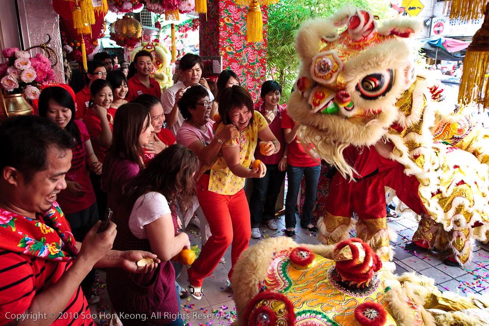 Joy of Lion Dance@ KL, Malaysia