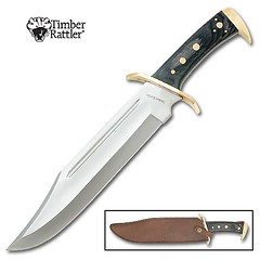 Timber rattler knife
