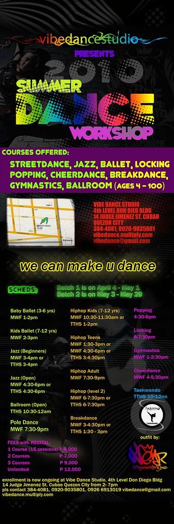2010 dance workshop