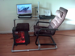 Computer Gaming Chair by Don Sturrok