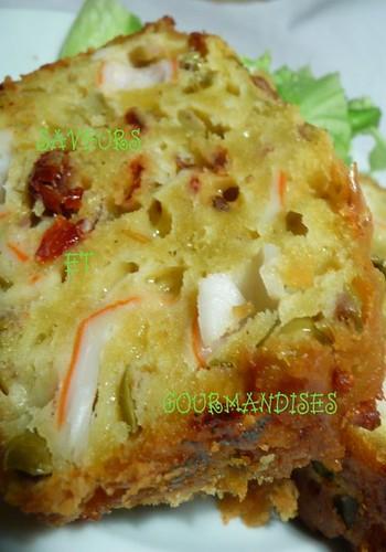 Cake Au Surimi Tomate Basilic