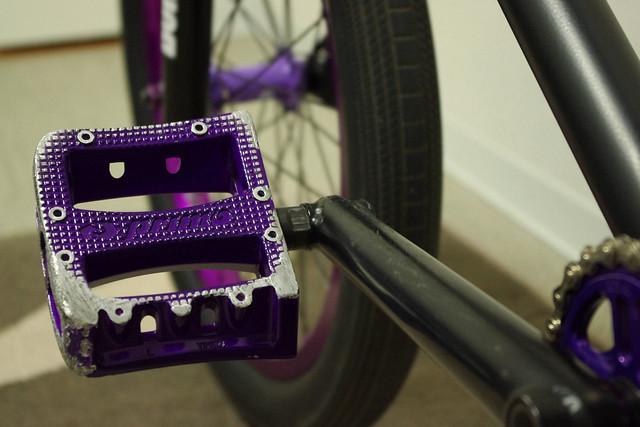 Damage pedal