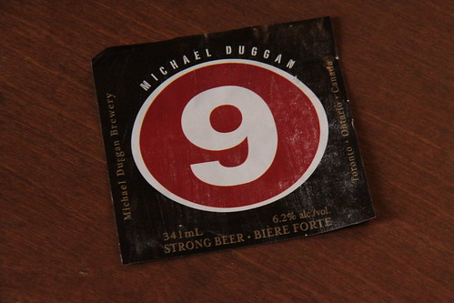 Michael Duggan   9 Beer (Inda Pale Ale and Craft Beer from Toronto)