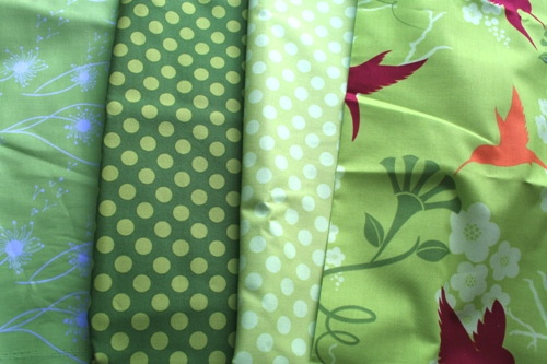 flora and fauna fabric