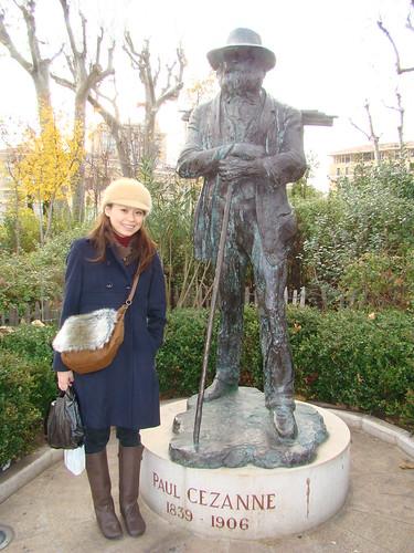 塞尚雕像_Aix en Provence普羅旺斯艾克斯