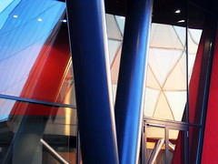 Tower-Portal, Frankfurt/Main 2010 (Spiegelneuronen) Tags: architektur westhafen westhafentower frankfurtmain geripptes
