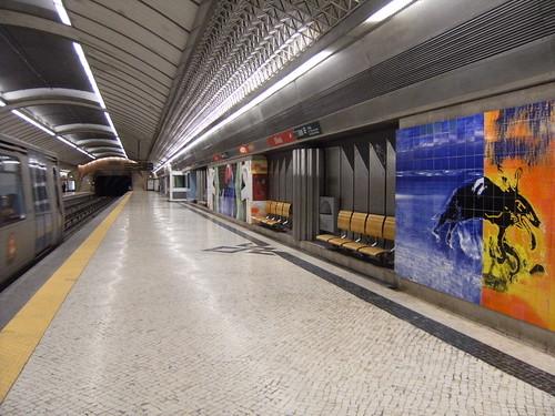 Metro de Lisboa: Estação Olivais