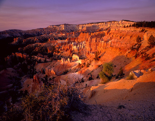 Winter Sunrise over Bryce Canyon National Park