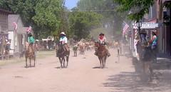 Cowboys (kawwsu29) Tags: cowboys kansas museums wichita cattledrive oldcowtownmuseum railsandtrailsevent