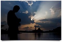 Syukur... (AnNamir™ c[_]) Tags: sunset canon dq 500d bratanesque annamir darulquran dqkkb micarttttworldphotographyawards klno